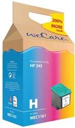 Inkcartridge Wecare HP C8766EE 343 kleur