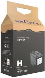 Inkcartridge Wecare HP C9364EE 337 zwart