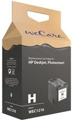 Inkcartridge Wecare HP CC641E 300XL zwart HC