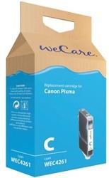 Inkcartridge Wecare Canon CLI-8 blauw +chip