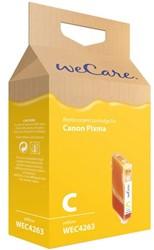 Inkcartridge Wecare Canon CLI-8 geel +chip