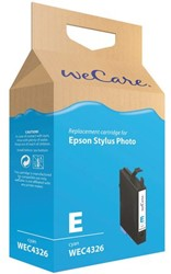 Inkcartridge Wecare Epson T055240 blauw