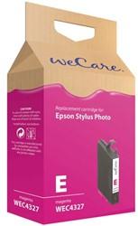 Inkcartridge Wecare Epson T055340 rood