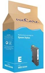 Inkcartridge Wecare Epson T071240 blauw