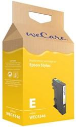 Inkcartridge Wecare Epson T071440 geel