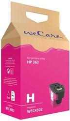 Inkcartridge Wecare HP C8772EE 363 rood