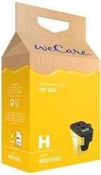 Inkcartridge Wecare HP C8773EE 363 geel