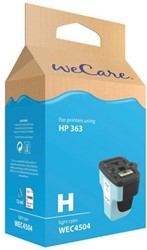 Inkcartridge Wecare HP C8774EE 363 lichtblauw