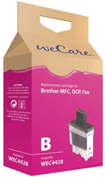 Inkcartridge Wecare Brother LC-900 rood