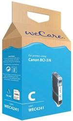 Inkcartridge Wecare Canon BCI-6 blauw