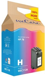 Inkcartridge Wecare HP C6578A 78 kleur