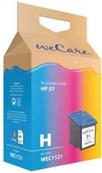 Inkcartridge Wecare HP C6657A 57 kleur