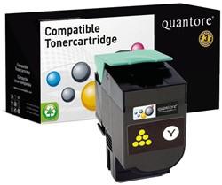 Tonercartridge Quantore Lexmark 70C0H40 geel