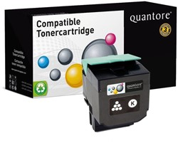 Tonercartridge Quantore Lexmark 80C0S10 zwart
