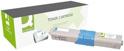 Tonercartridge Q-Connect OKI 44469724 blauw