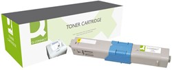 Tonercartridge Q-Connect OKI 44469722 geel