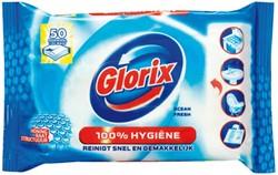 Toiletreiniger Glorix 30 hygiene doekjes