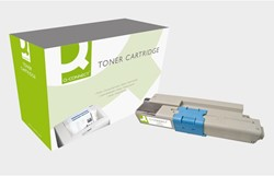 Tonercartridge Q-Connect OKI 44469804 HC zwart