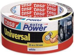 Plakband Tesa 50mmx25m extra Power wit