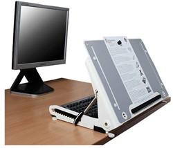 Ergonomische documentenhouder R-Go Tools U Slope Pro