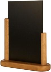 Krijtbord Securit 23x20x6cm teak hout