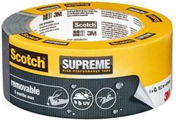 Plakband Scotch Supreme 48mmx18.2m verwijderbaar