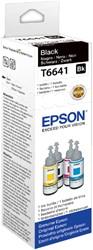 Flacon navulinkt Epson T6641 zwart