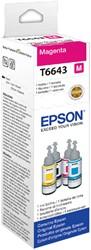 Flacon navulinkt Epson T6643 rood