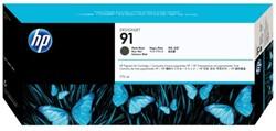 Inkcartridge HP C9464A 91 mat zwart