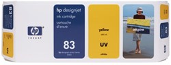 Inkcartridge HP C4943A 83 UV geel