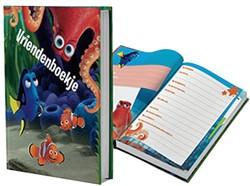 Vriendenboek finding Dory