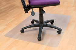 Stoelmat Floortex PVC 120x150cm voor harde vloeren