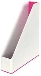 Tijdschriftcassette Leitz WOW dual  wit/roze