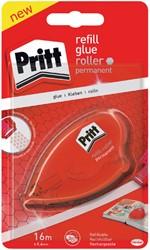 Lijmroller Pritt houder en navulling permanent op blister