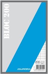Kladblok 135x210mm ruit 5X5mm 200vel