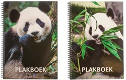 Plakboek Papyrus 23x33cm panda
