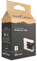 Inkcartridge Wecare Brother LC-1000 zwart