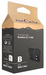 Inkcartridge Wecare Brother LC-1100 zwart
