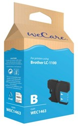 Inkcartridge Wecare Brother LC-1100 blauw