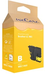 Inkcartridge Wecare Brother LC-985 geel