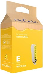 Inkcartridge Wecare Epson T263440 geel HC