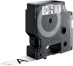 Labeltape Dymo 16956 D1 718070 19mmx5.5m poly zwart op wit