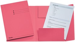 Dossiermap Esselte 275gr 3kleppen roze