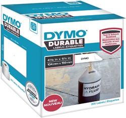 Etiket Dymo 1933086 labelwriter 104x159mm 200 stuks