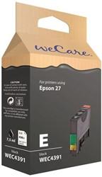 Inkcartridge Wecare Epson T270140 zwart