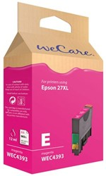 Inkcartridge Wecare Epson T271340 rood HC