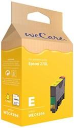 Inkcartridge Wecare Epson T271440 geel HC