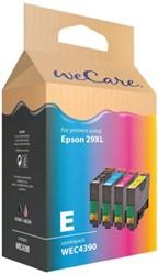 Inkcartridge Wecare Epson T299640 zwart + kleur HC