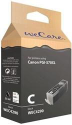 Inkcartridge Wecare Canon PGI-570XL zwart
