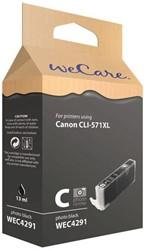 Inkcartridge Wecare Canon CLI-571XL zwart